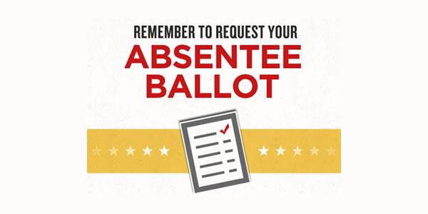 Get your absentee ballot!