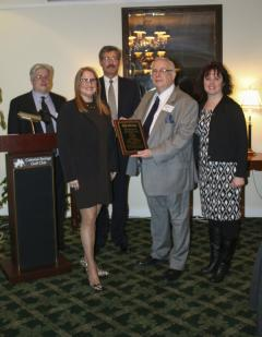 "The Melville Chamber of Commerce named Councilwoman Susan A. Berland its ""Business Advocate of the Year."" Photo Credit: Town of Huntington."