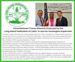 Edwards endorsed for Supervisor