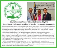 Edwards endorsed for Supervisor